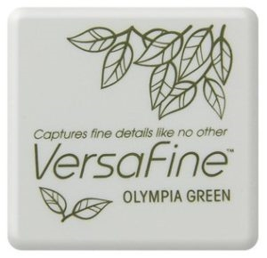 Versafine Ink Pad Mini - Olympia Green